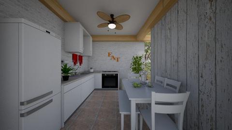 Scandinavian_Kitchen - Kitchen - by Tupiniquim