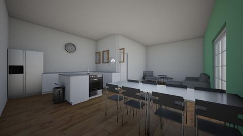living room and kitchen - Modern - by No3mi