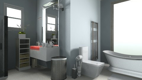 Bathroom - Vintage - Bathroom - by krisztinaa