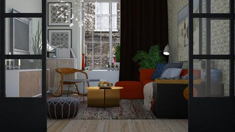 Narrow Living - Modern - Living room - by HenkRetro1960