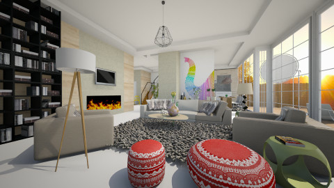 fresh concept - Minimal - Living room - by sometimes i am here