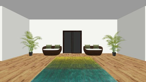 Grassy Green House - Retro - by FEJ and GEB