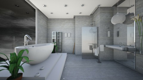 bath 6 - Bathroom - by hammedaamany