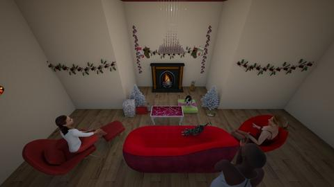 Christmas Living Room - Living room - by kfoulk1198