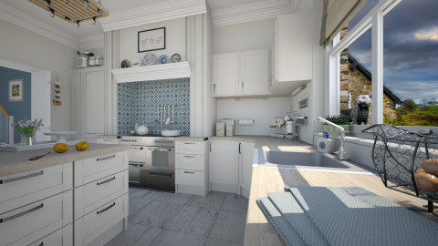Country Kitchen - Kitchen - by MandyB84