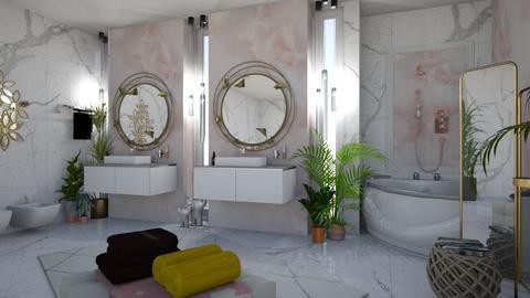 Eclectic Bathroom - Bathroom - by matina1976