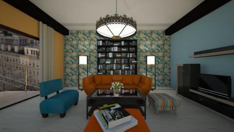 RrO - Retro - Living room - by Saj Trinaest