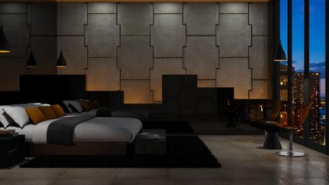Geometric - Bedroom - by GraceKathryn