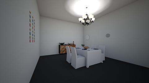 dining room - Modern - Dining room - by kbunn37
