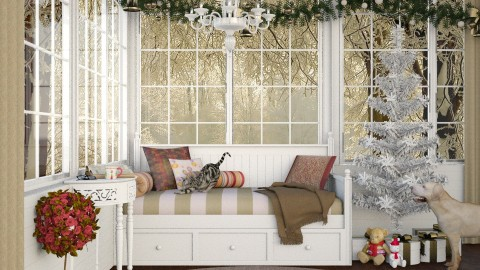 Design 234 Cozy Christmas Corner - by Daisy320