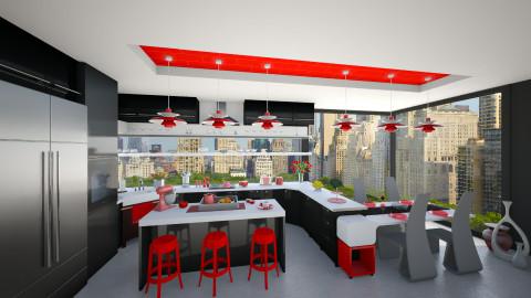 Modern kitchen - Modern - Kitchen - by maja97