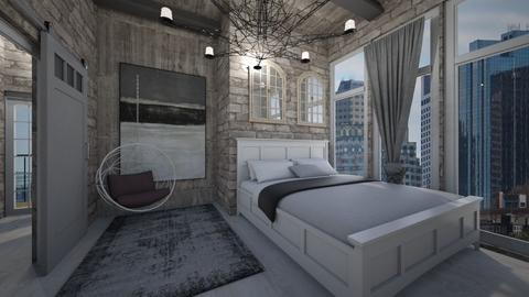 city life  - Bedroom - by heynowgregory
