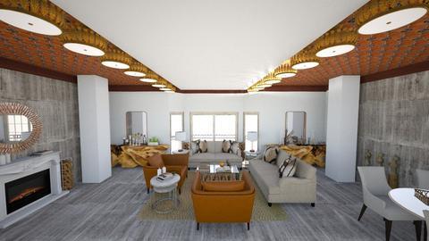 La Rocca - Living room - by vladahoroshevska