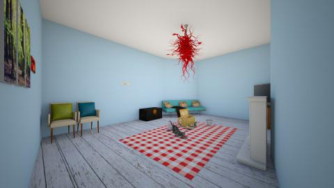 Beach house Living Room - Living room - by cranktopus