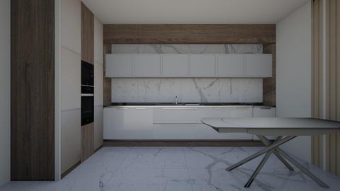 kitch3 - Modern - Kitchen - by szaboi