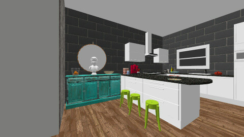 dream kitchen - Kitchen - by bigskylibby