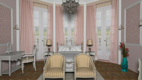 Pale - Vintage - Bedroom - by milyca8
