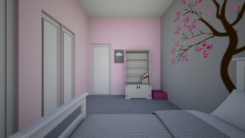 KIDS ROOM  - Feminine - Kids room - by mweintraub