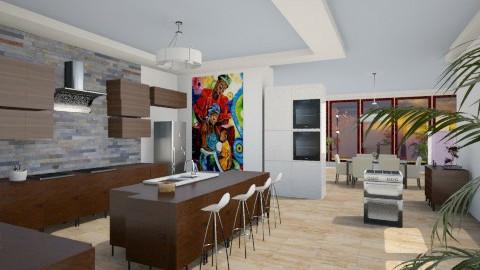 Kitchen  rome - Kitchen - by K32 lolololol