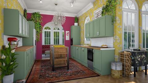Turnip - Kitchen - by dominicjames