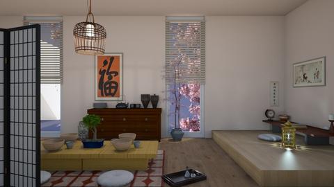 Japanese Room - by cutebaxter123