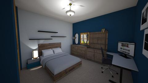 Mountain Inspired - Bedroom - by ZizzyRays