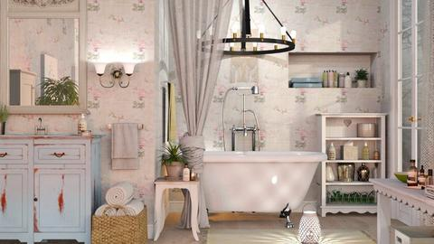 Shabby Chique Bathroom - Vintage - Bathroom - by Sally Simpson