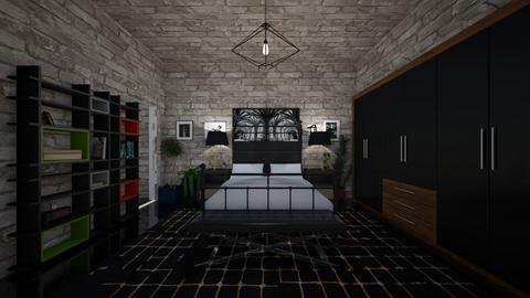 hardin scott bedroom - Bedroom - by ciarag75