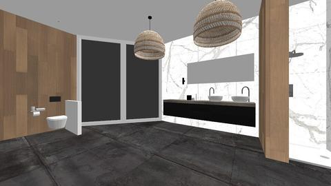 modern bathroom - Modern - Bathroom - by roosb