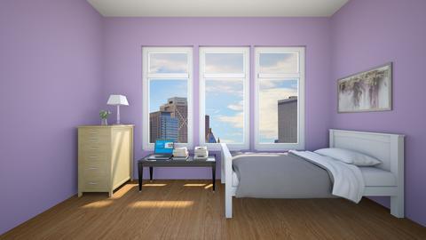 simple bedroom 1 - by canvas_creativity