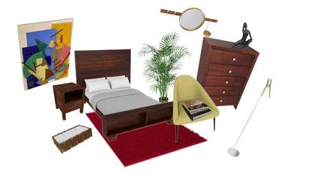 Houston Bedroom  - by madeleinemali