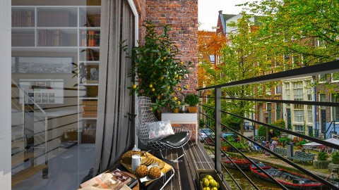 Small Apartment_Balcony - by ayudewi382