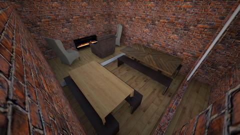BIZCAFE - Rustic - Dining room - by anthonyhfeil
