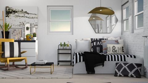 Cactus Appartment - Modern - Bedroom - by Jessica Fox