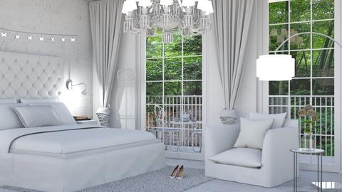 Bedroom white - by neide oliveira