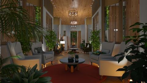 jungle hallway - by lais baptista
