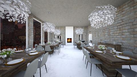 restaurant - Modern - by Mari Lara_978