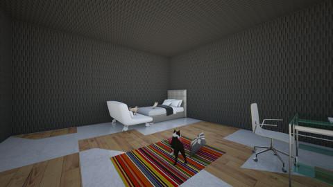Pug Bedroom - Bedroom - by samireastaviation