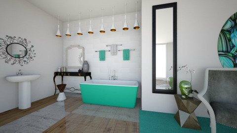 Bathroom - Bathroom - by zellowiz