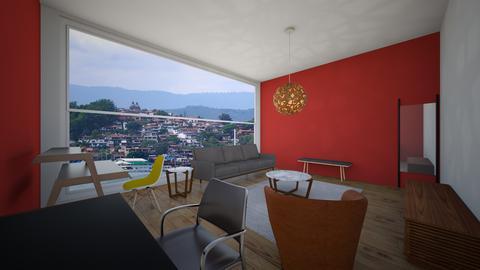 tercer cuadro - Living room - by EYSB