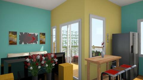 spark of Green apartment - Minimal - Living room - by herjantofarhan