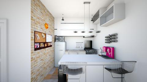 PW condo living 2 - Minimal - Living room - by BigChill
