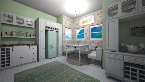 shbby chc - Kitchen - by Kylie Awa
