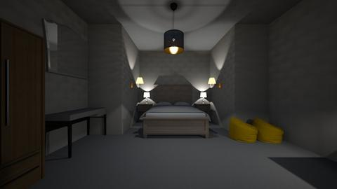 Master Bedroom_2 - Modern - Bedroom - by claudia_cox09