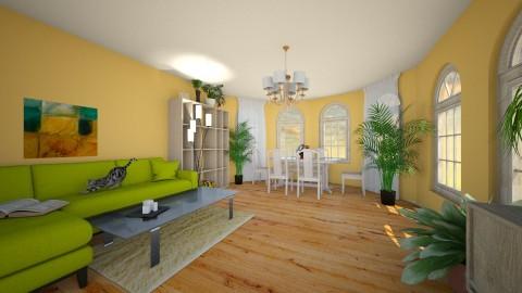 1 - Living room - by haneczka