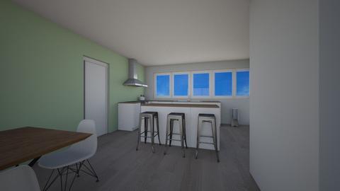 open keuken 2 - Kitchen - by Mthe