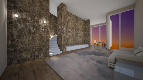 Pillar - Living room - by nanabpf