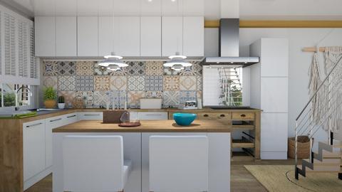 BohoKitchen - Kitchen - by annejadetjenl