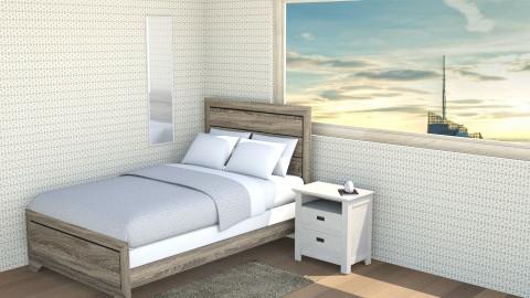 Brown - Minimal - Bedroom - by blorp