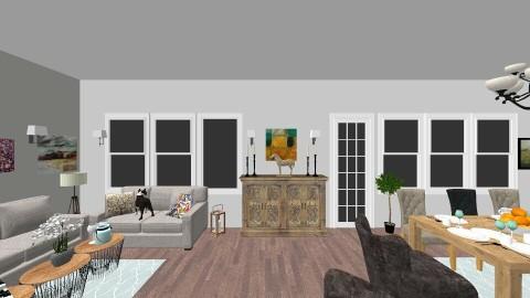 AK living room Kranevo - Living room - by s3rp3n7in3